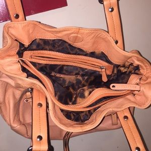 b. makowsky Bags - Makowsky genuine leather orange purse